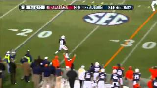 11/30/2013 Alabama vs Auburn Football Highlights