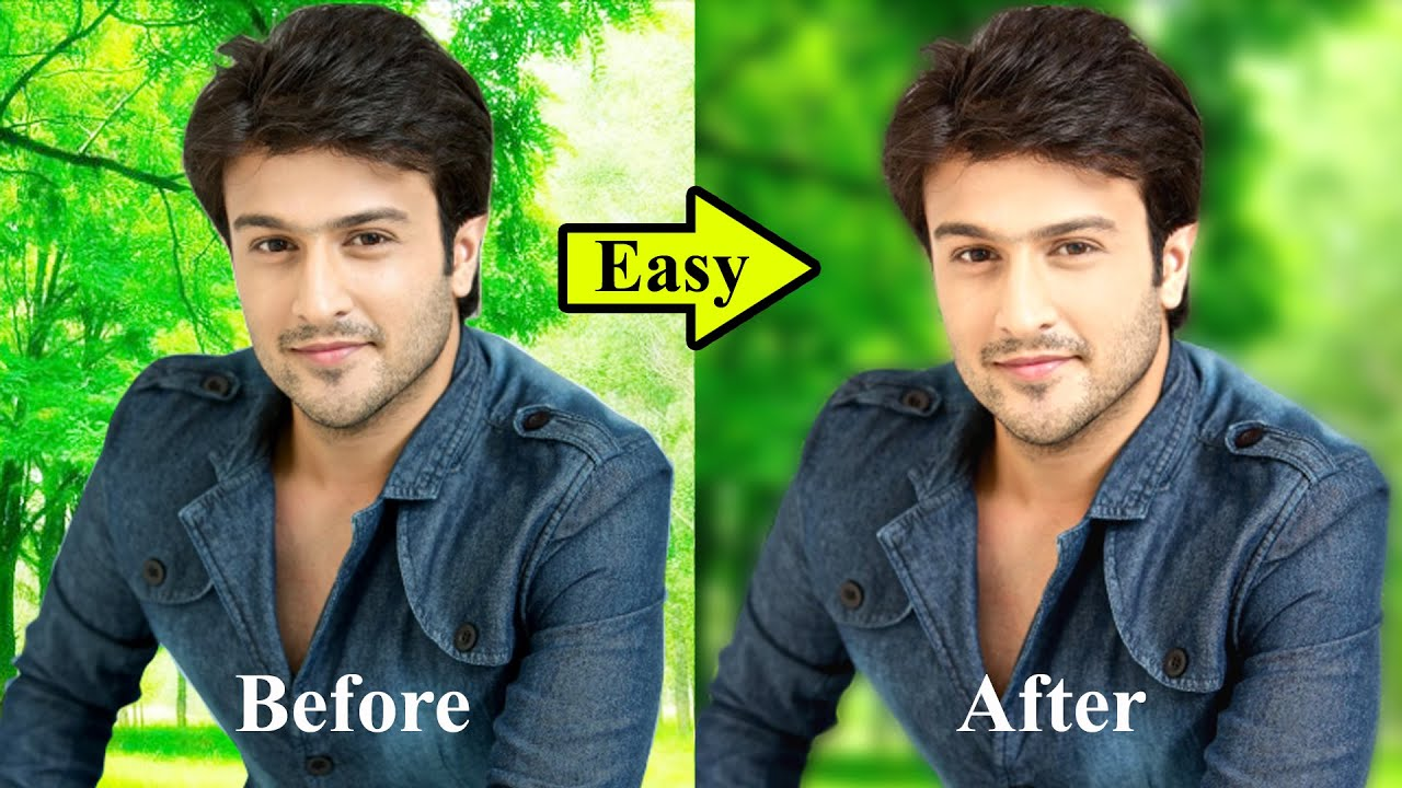 Background Blur in Photoshop    Photo Editing    How to Blur Background in photoshop 2020