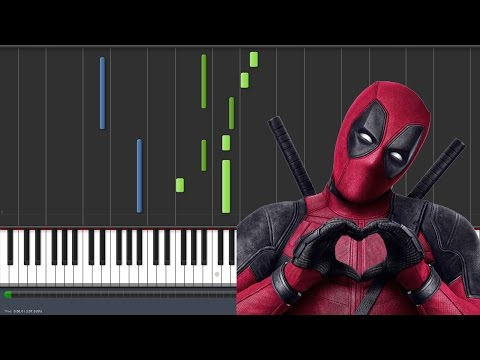 Angel of the Morning - Juice Newton - Deadpool Movie [Piano Tutorial] (Synthesia)