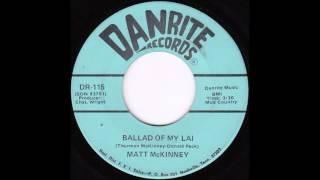 Matt McKinney - Ballad Of My Lai