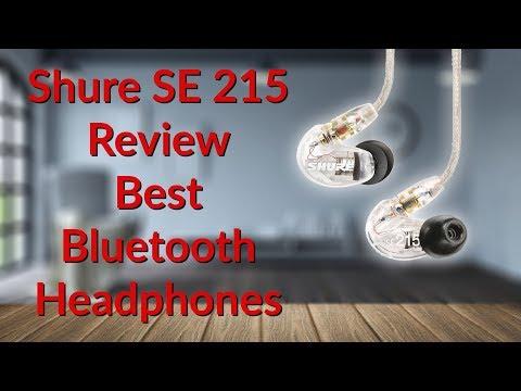 Shure SE215 Review Best Wireless Headphones - YouTube Tech Guy
