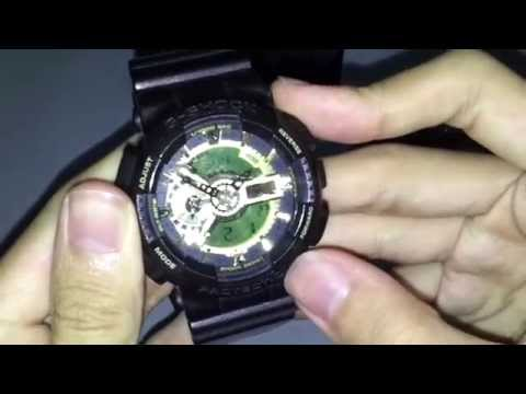 Casio G-Shock WR20BAR Unbox/Review