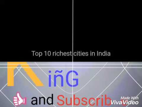India's Top 10 || Richest cities || In 2:00 min || 2017