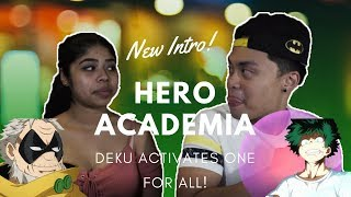 Boyfriend and Girlfriend LIVE Reaction to My Hero Academia Season 2 Episode 14 NEW INTRO, ONEFORALL!