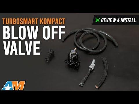2015-2017 Mustang (EcoBoost) Turbosmart Kompact Shortie Dual Port Blow Off Valve Review & Install