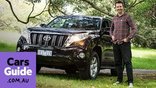 2016 Toyota LandCruiser Prado GXL diesel manual review | Top 5 reasons to buy video