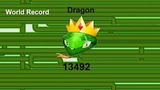 Snix.io World Record Score 13,492 M 214 Kills