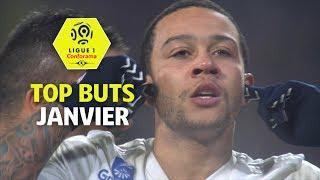 Top buts Ligue 1 Conforama - Janvier (saison 2017/2018)