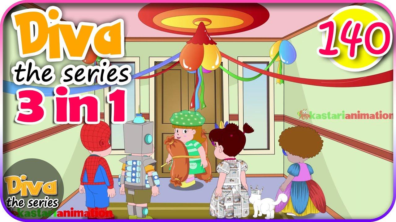 Seri Diva 3 in 1 | Kompilasi 3 Episode ~ Bagian 140 | Diva The Series Official