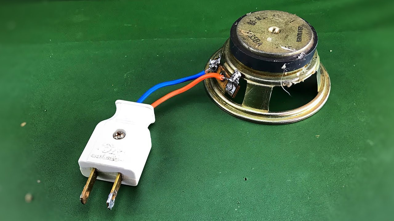 New free energy power speaker magnet generator easy homemade good technology idea 2019