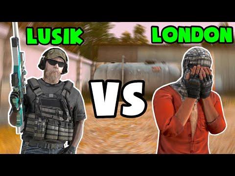 LUSIK VS LONDON | ИГРАЮ ПРОТИВ ТОП 1 ИГРОКА, СКИЛЛ НЕ ЛУЧШИЙ! STANDOFF 2
