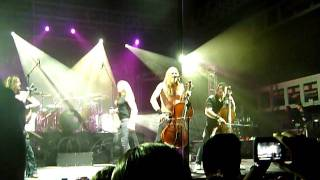 Apocalyptica - I Don't Care- With Tipe Johnson -Caracas-CIEC 19/01/2012