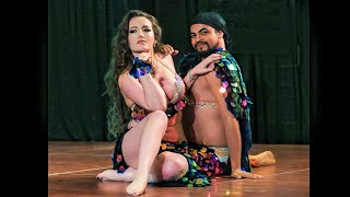 Female and Male Belly Dance