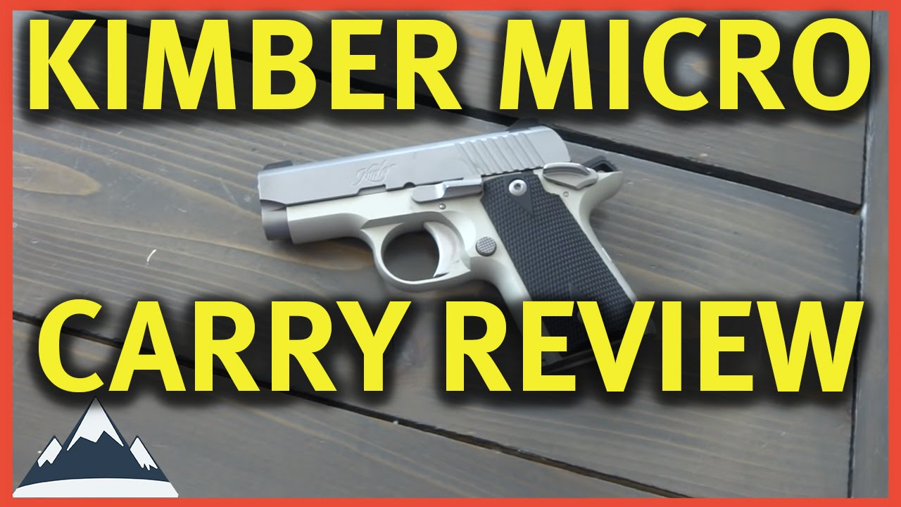 Kimber Micro Carry  380 - Review and First Shots