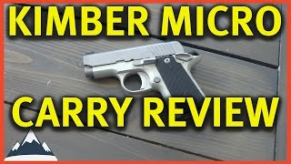 Kimber Micro Carry .380 - Review and First Shots
