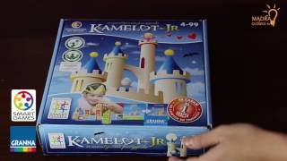 Kamelot Junior Jr #1 (gra logiczna dla dzieci, SMART GAMES)