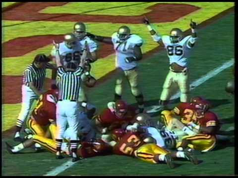 #1 Notre Dame Vs. #2 USC 1988 (Updated)