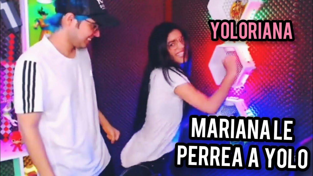 MARIANA LE PERREA A YOLO EN TWITCH MUY SEXY - YOLO AVENTURAS