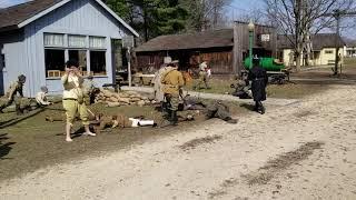 4-6-19 Rockford WW1 Days Russian Civil War Battle Reenactment