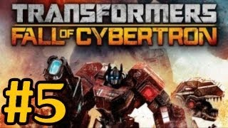 Transformers Fall Of Cybertron Walkthrough Part 5 Metroplex Xbox360