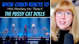 Download Lagu Vocal Coach Reacts to The Pussycat Dolls Medley inc new song React MP3