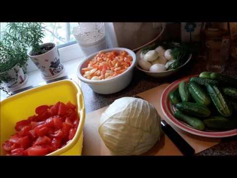 """Любимый"""" салат на зиму,без стерилизации."""