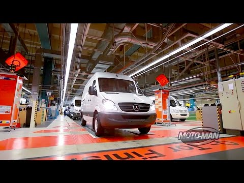 2015 Mercedes Benz Sprinter with Crosswind Assist FIRST DRIVE REVIEW & Factory Behind the Scenes