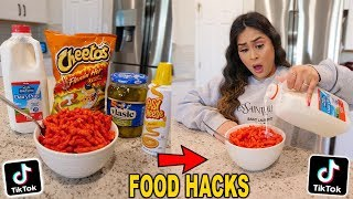 Trying TIKTOK WEIRD FOOD COMBINATIONS That People Love!