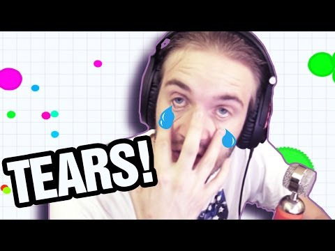 Thumbnail: CRYING ACTUAL TEARS. (Agario) -- Part 8