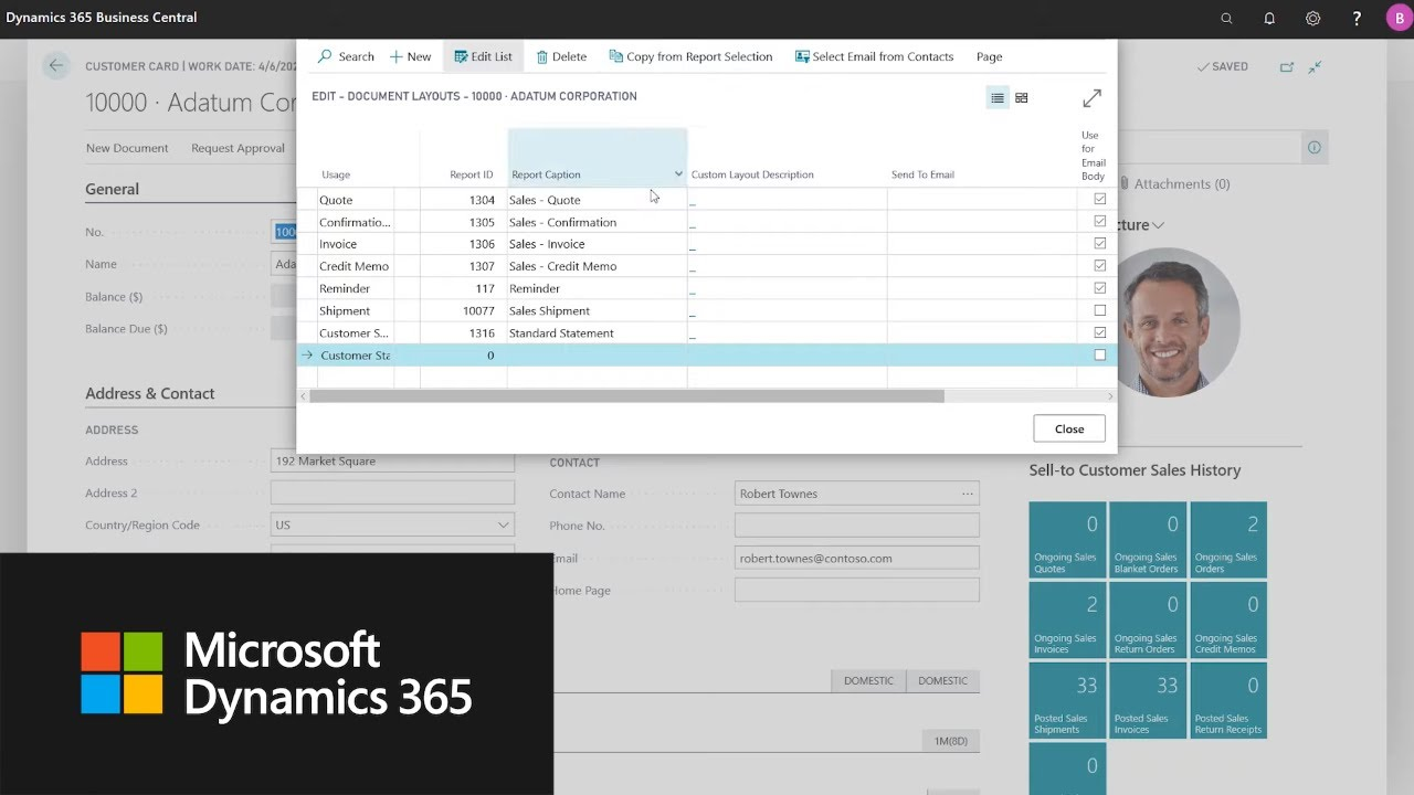 Dynamics 365 Business Central | 2020 release wave 1 overview