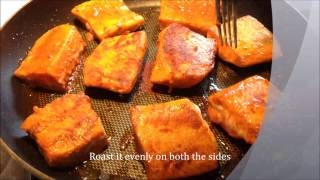 Salmon Fry - Salmon Fish Fry - Salmon Fish Fry Indian Style - Salmon Fish Recipe