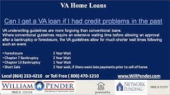 South Carolina VA Loan - Call William Pender at 864-233-4210