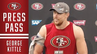George Kittle on 4-0 Record | 49ers