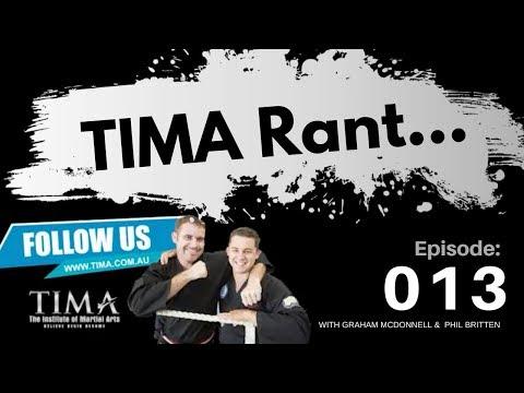 TIMA RANT 4.01 Building Community is Vital