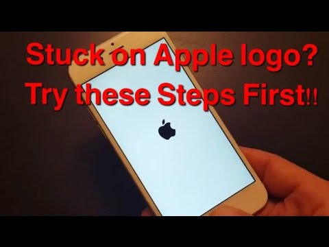 STUCK ON APPLE LOGO? IPHONES, IPADS, IPODS   Try These Steps First!!!