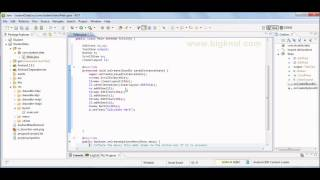 Android Tutorial1 Android Pure Java Programming without  XML
