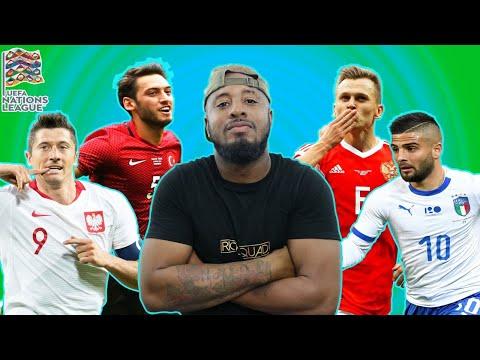 Poland Vs Italy 0-1 | Russia Vs Turkey 2-0 | UEFA NATIONS LEAGUE DAY 10 RECAP