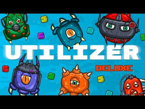 Utilizer Deluxe - mobile arcade space shooter mixed with a match 3 genre! Release Trailer