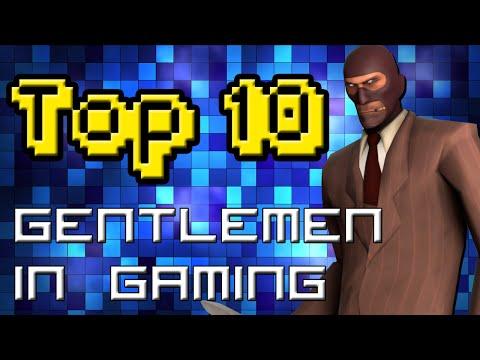TOP 10 GENTLEMEN IN VIDEO GAMES |