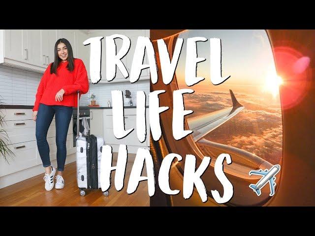 My Top 22 Travel Life Hacks & Tips! | Jeanine Amapola