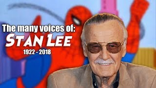 Many Voices and Cameos of Stan Lee (Animated / Voice-Over Tribute)
