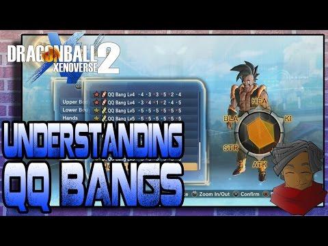 Dragon Ball Xenoverse 2 | Understanding QQ Bangs! An IN-DEPTH QQ Bang Guide