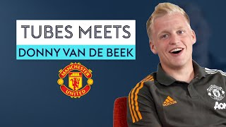 Who does Van de Beek think is the BEST Dutchman to play for Manchester United? 👀 | Tubes Meets