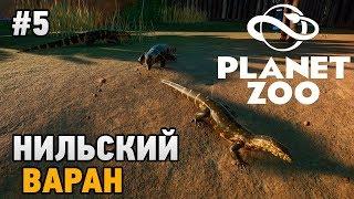 Planet Zoo #5 Нильский варан
