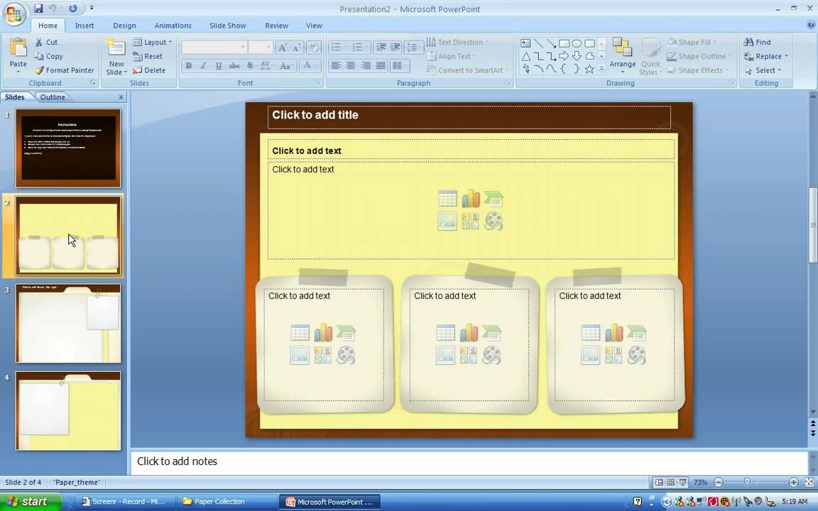 How to save a ppt file as a powerpoint template youtube how to save a ppt file as a powerpoint template toneelgroepblik Gallery