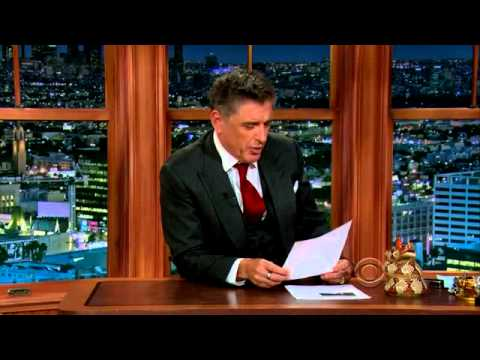 The Late Late Show with Craig Ferguson Full Episode 17 March 2014