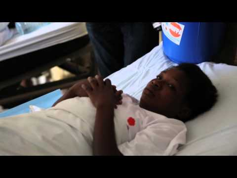 Secretary-General and World Bank Chief visit Heal Africa hospital in Goma, DRC