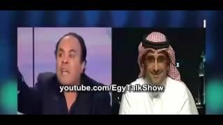 سعودي يقول المصريين اغبياء ومصري يرد عليه مصر شعب عظيم وليس عباد ابل