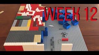 LEGO Building Crait Series - Part 12 - More layout + ski speeder lines