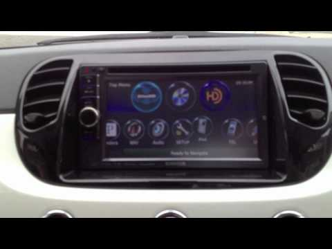 2012 Fiat 500 Custom Install A Kenwood DNX6990HD Double Din Navigation Radio